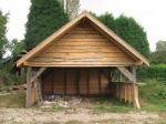 My selfbuild barn at the plaw hatch farm