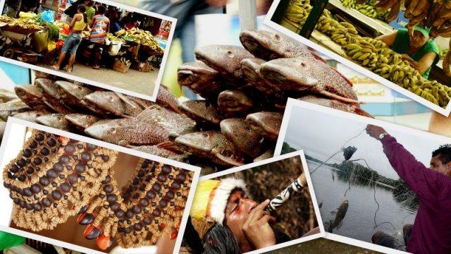Fische, Früchten und Kunst in Manaus