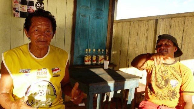 Besoffenen Indianer in Santa Isabel