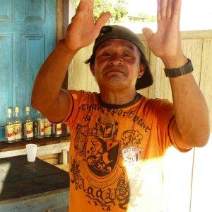 Leider waren an diesem Sonntagabend alle Männer in Santa Isabell betrunken.
