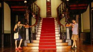 Die bis heute von der Regierung genutzte Residenz eines Deutscher Kautschukbarons aus der Mitte des 19. Jahrhunderts.