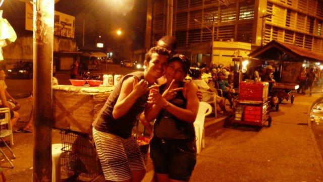 Nachtleben in Manaus.