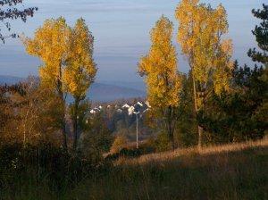 Herbst auf der schwäbischen Alb in Heidenheim